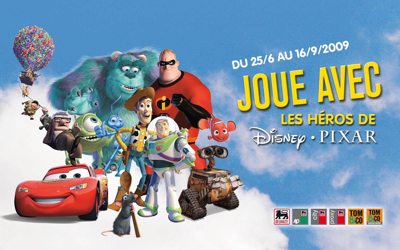 Delhaize – Disney Pixar