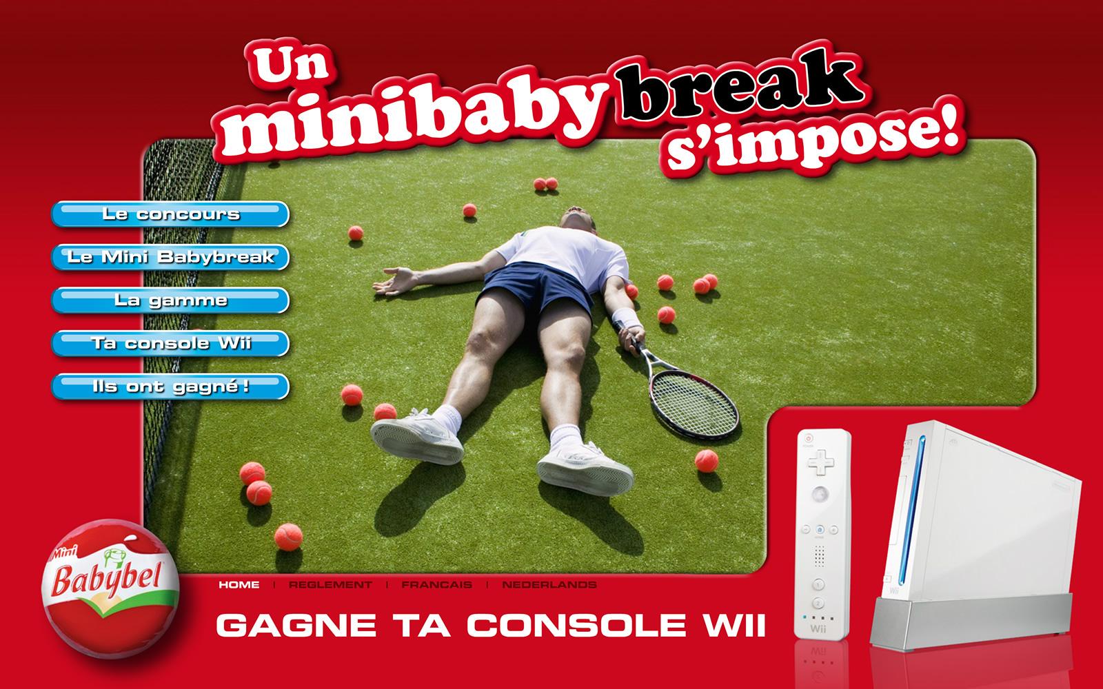 Mini Babybel – Action Wii