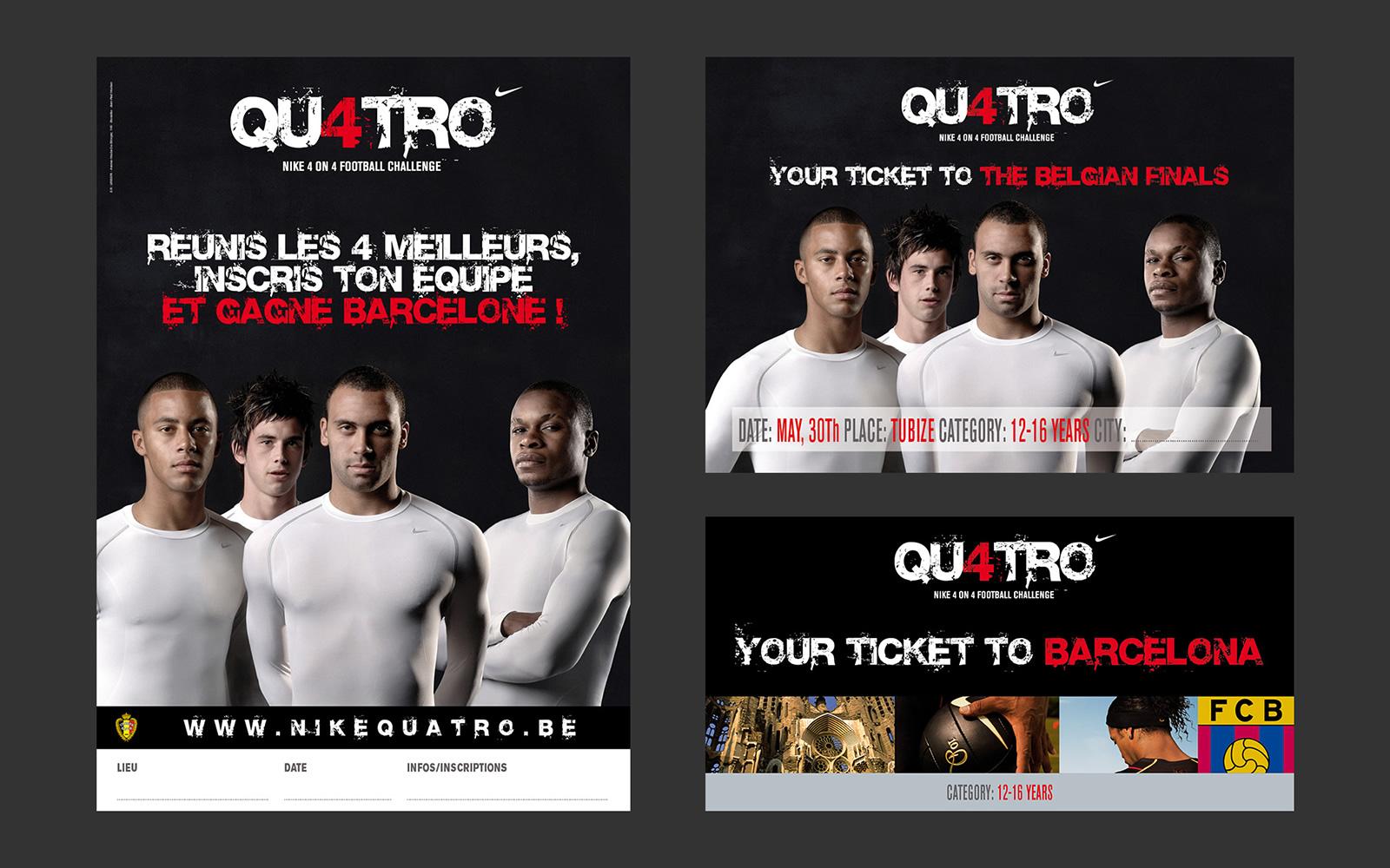 Nike Quatro