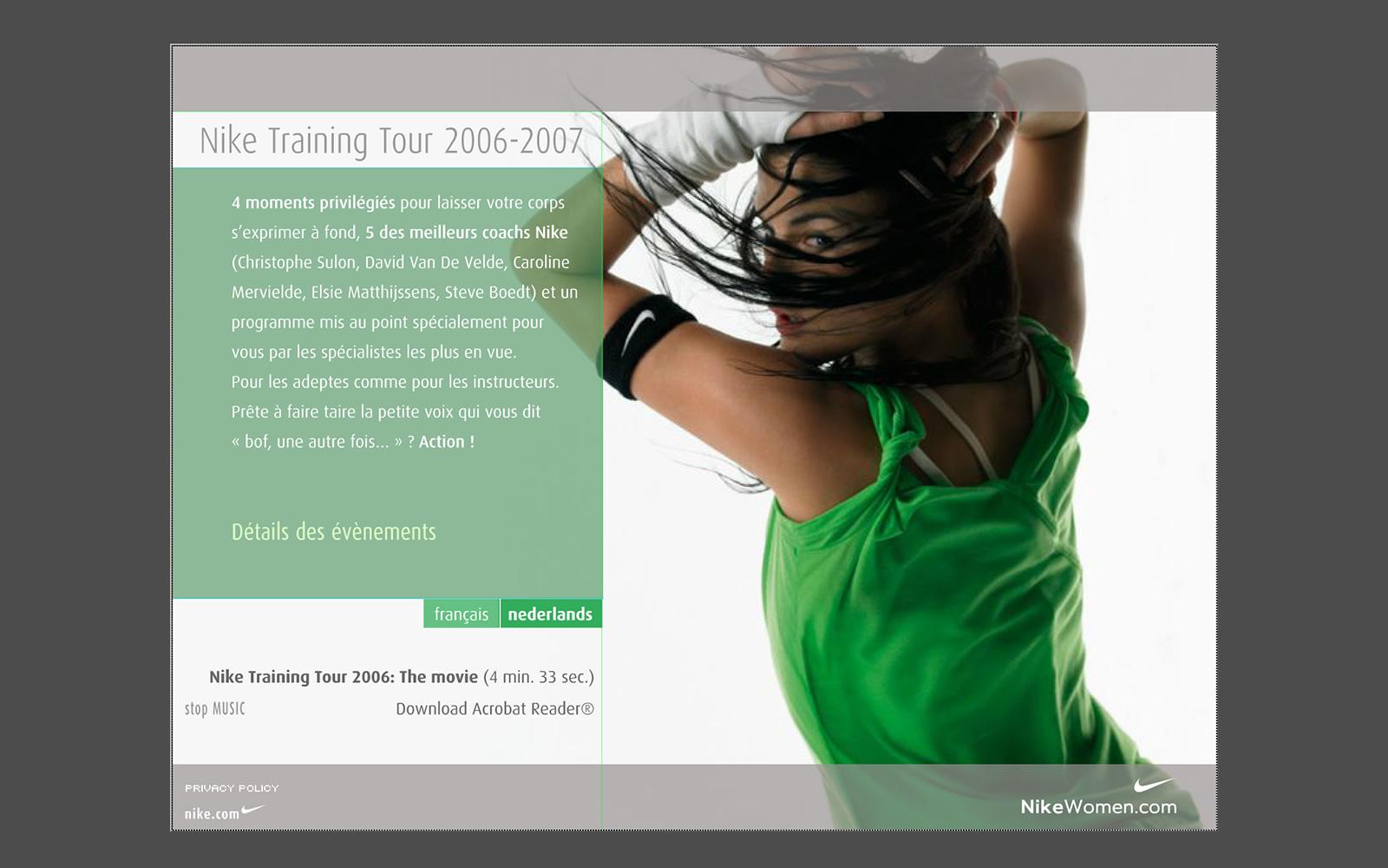 Nike Training Tour Women