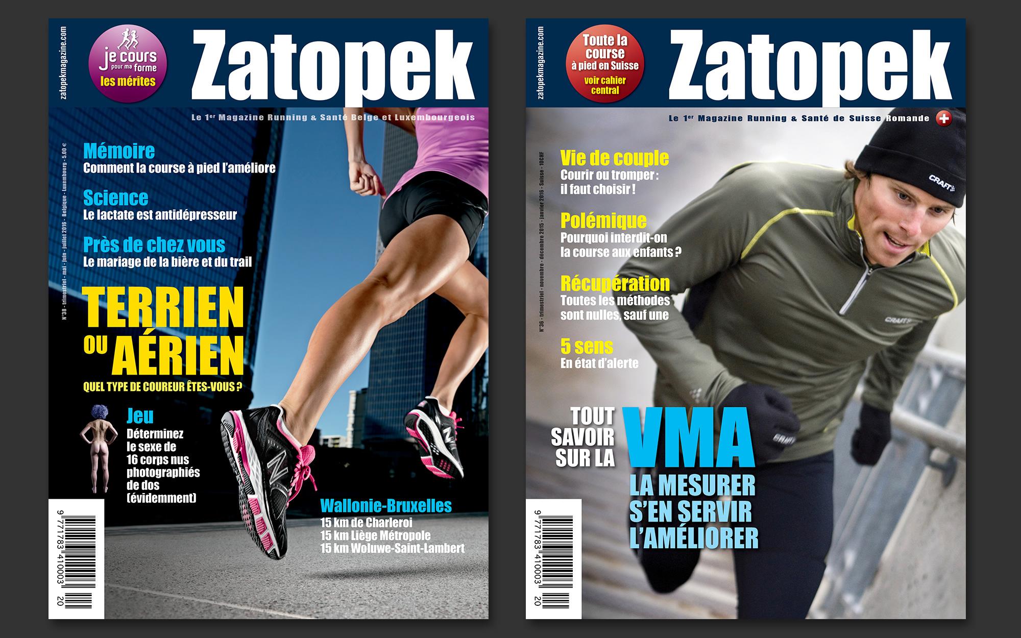 Magazine Zatopek offline