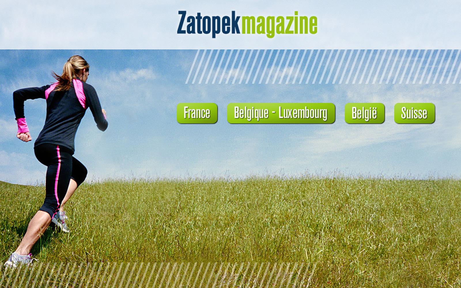 Magazine Zatopek online